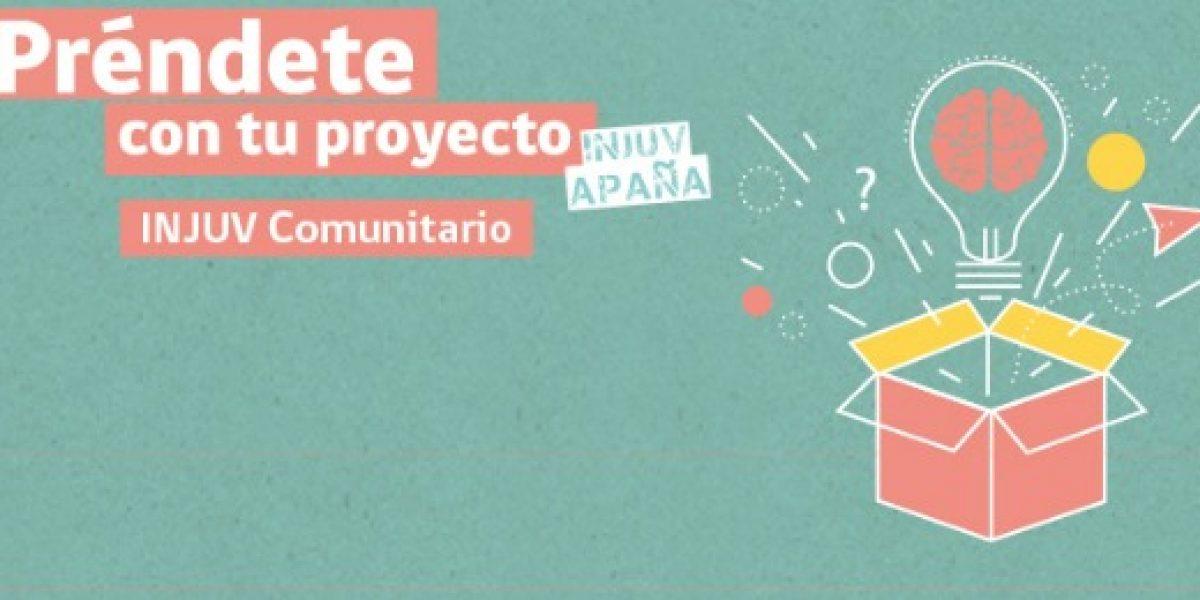 Jóvenes pueden postular proyectos a fondo del Injuv para mejorar sus barrios
