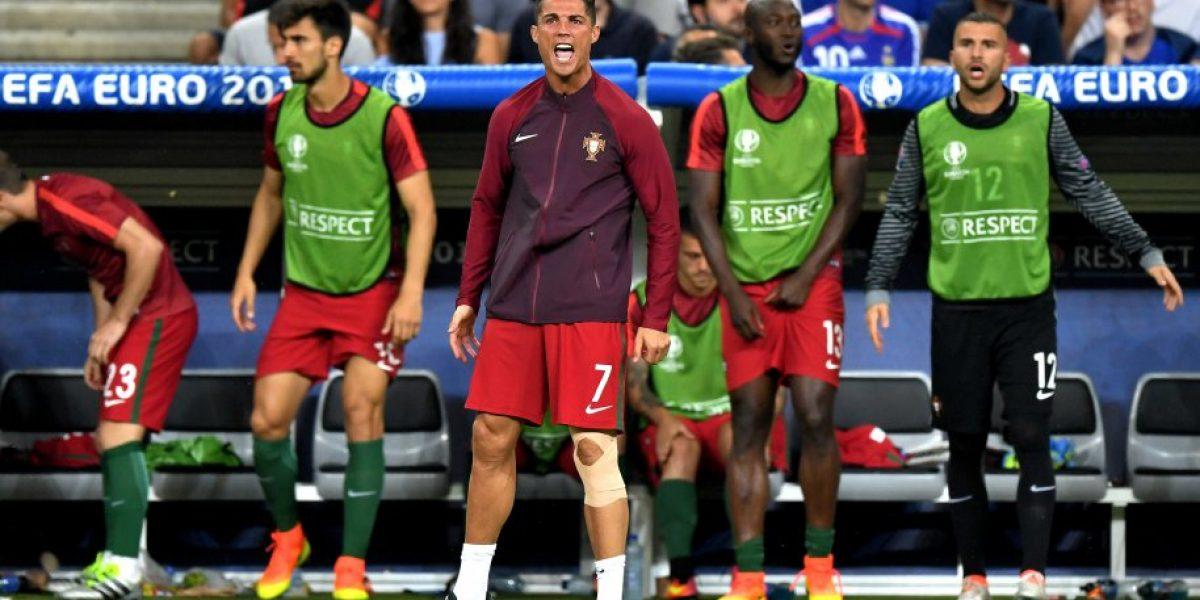 Entregan el primer diagnóstico de la lesión de Cristiano Ronaldo