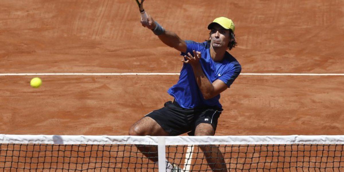 Julio Peralta tuvo un estreno triunfal en el ATP de Bastad y avanzó a cuartos de final