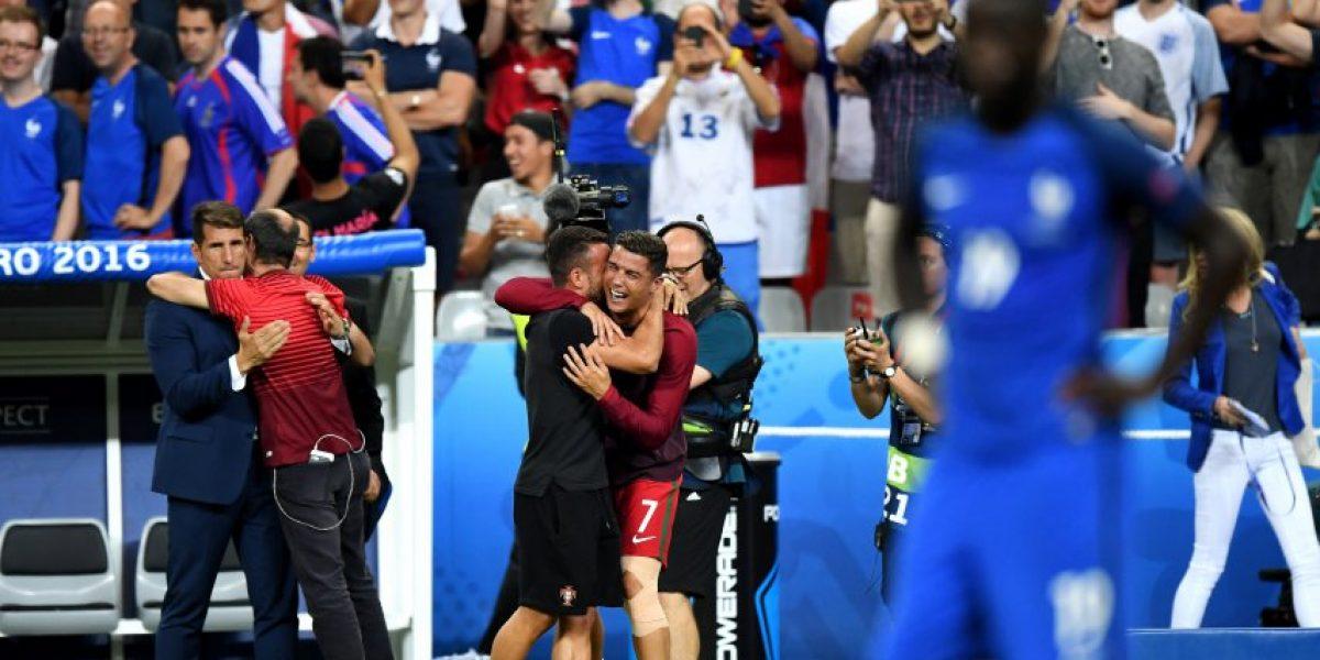 El show de Cristiano Ronaldo en la banca portuguesa: Fue entrenador y ayudante técnico