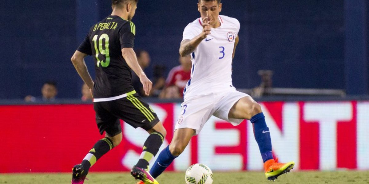 Enzo Roco llegó confiado a México: