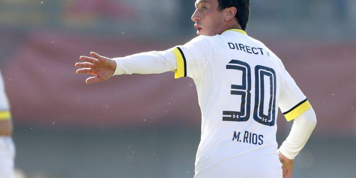 Michael Ríos avisa al nuevo DT de Colo Colo: