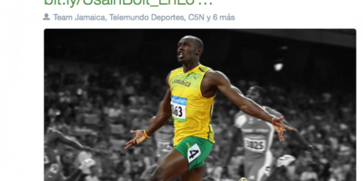 Tiemblan sus rivales: Usain Bolt dirá presente en Río 2016