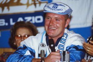 1992: Gascoigne ficha en la Lazio Foto:Getty Images. Imagen Por: