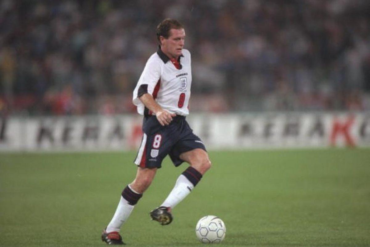 1997: Fue una de las piezas claves en la clasificación de Inglaterra rumbo a Francia 1998 Foto:Getty Images. Imagen Por: