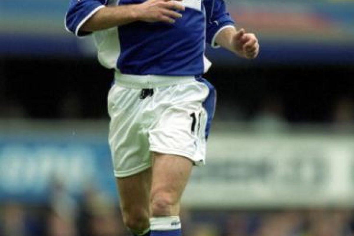 2000: Everton FC sería su nuevo club Foto:Getty Images. Imagen Por: