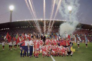 Dinamarca – 1 título (1992) Foto:Getty Images. Imagen Por: