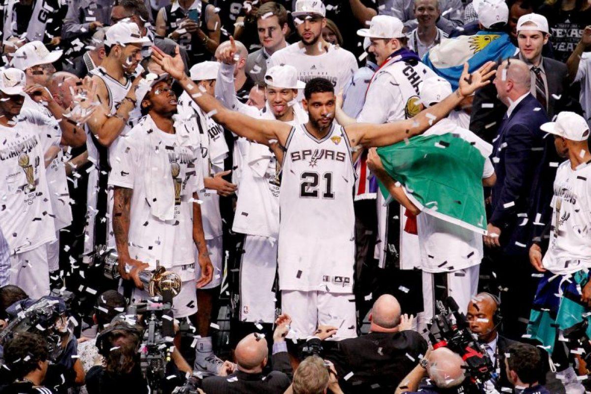 Tim Duncan deja el baloncesto profesional a los 40 años Foto:Getty Images. Imagen Por: