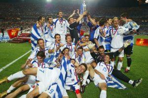 Grecia – 1 título (2004) Foto:Getty Images. Imagen Por: