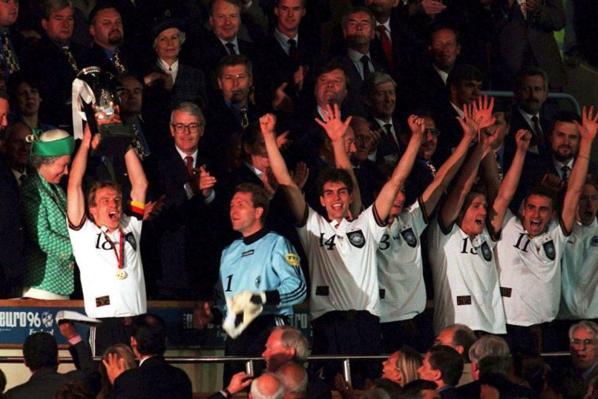 Alemania – 3 títulos (1972, 1980, 1996) Foto:Getty Images. Imagen Por: