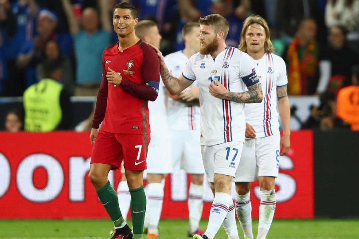 Las dudas y el enojo en el debut contra Islandia Foto:Getty Images. Imagen Por: