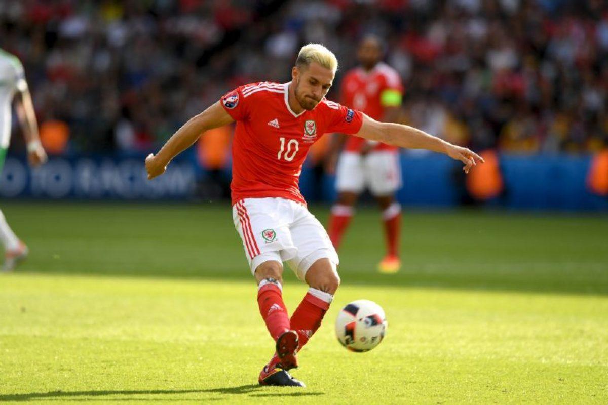 Aaron Ramsey (Gales) Foto:Getty Images. Imagen Por:
