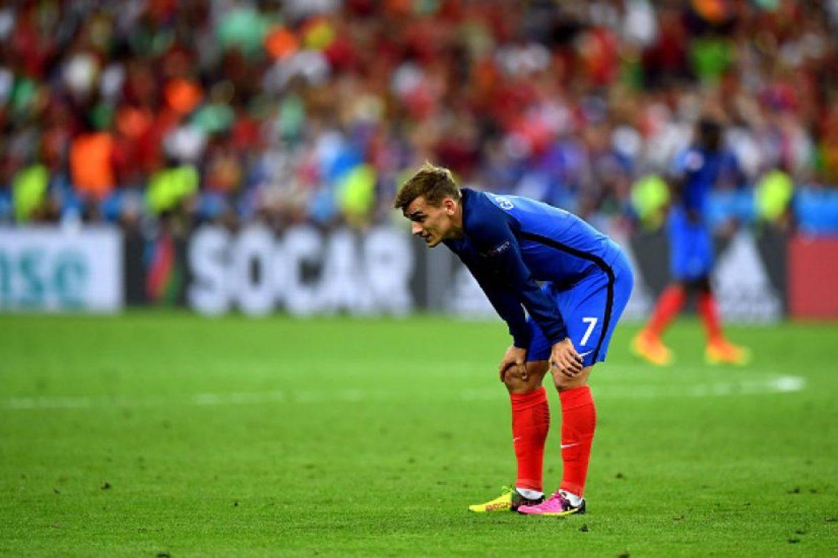 El delantero francés y gran figura del torneo no pudo ocultar su desazón tras caer en 'su' Eurocopa Foto:Getty Images. Imagen Por:
