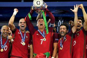 Portugal se lució en Europa y ganó la Eurocopa Foto:Getty Images. Imagen Por: