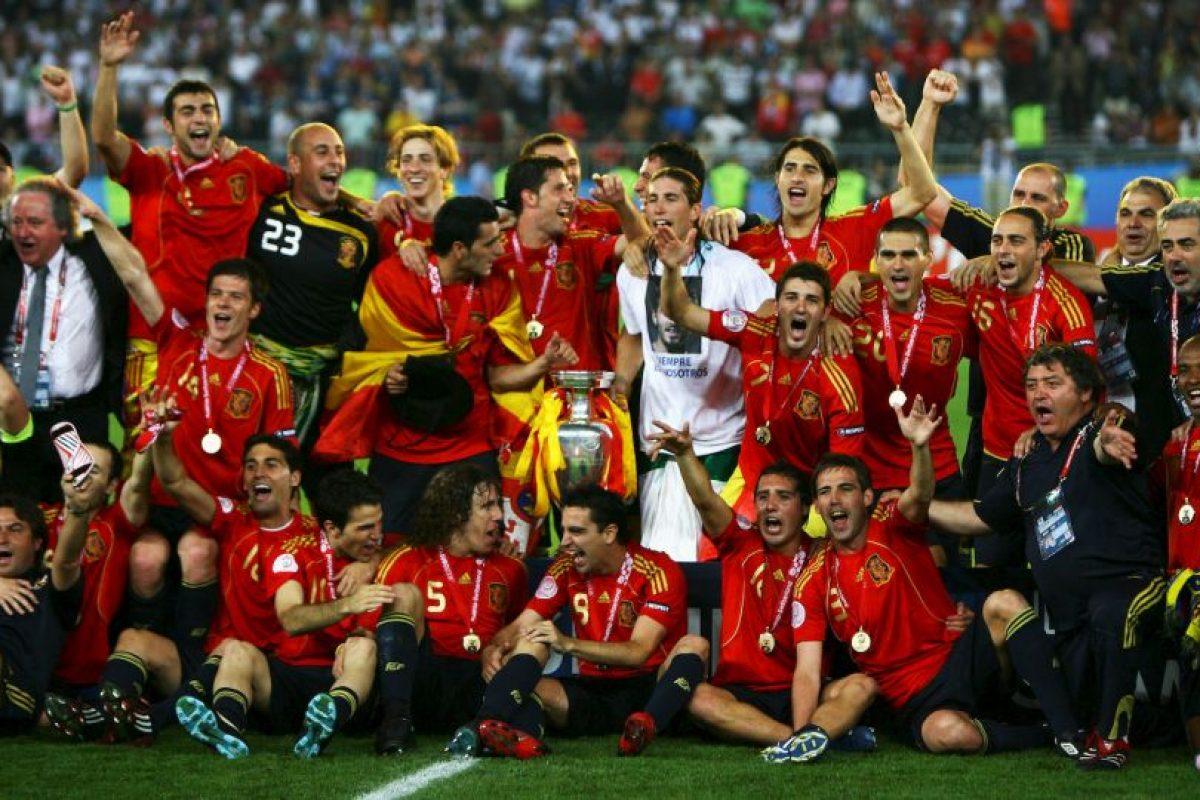 España – 3 títulos (1964, 2008, 2012) Foto:Getty Images. Imagen Por: