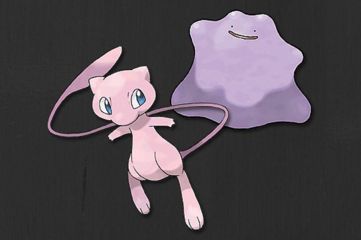 Mew y Ditto Foto:Pokémon. Imagen Por: