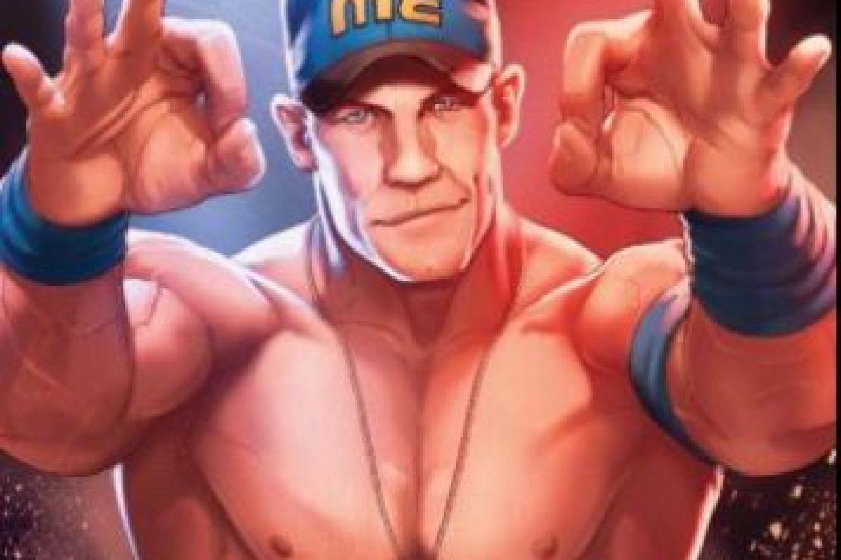 Así lucirán las estrellas de WWE en los cómics Foto:WWE. Imagen Por: