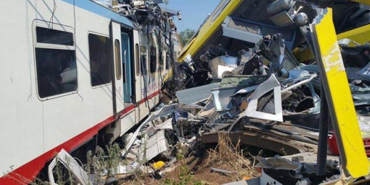 Autoridades elevan a 20 la cifra de fallecidos tras choque de trenes en Italia