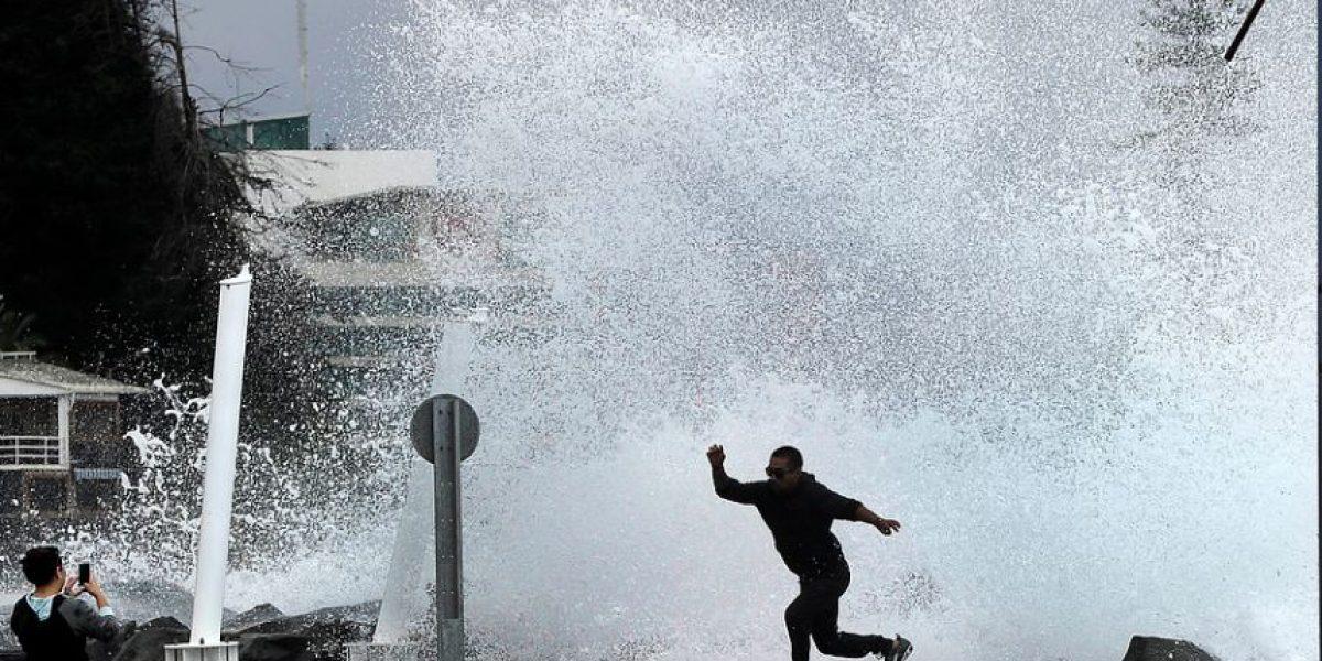 Armada alerta violentas marejadas con olas de hasta siete metros de altura en el litoral central