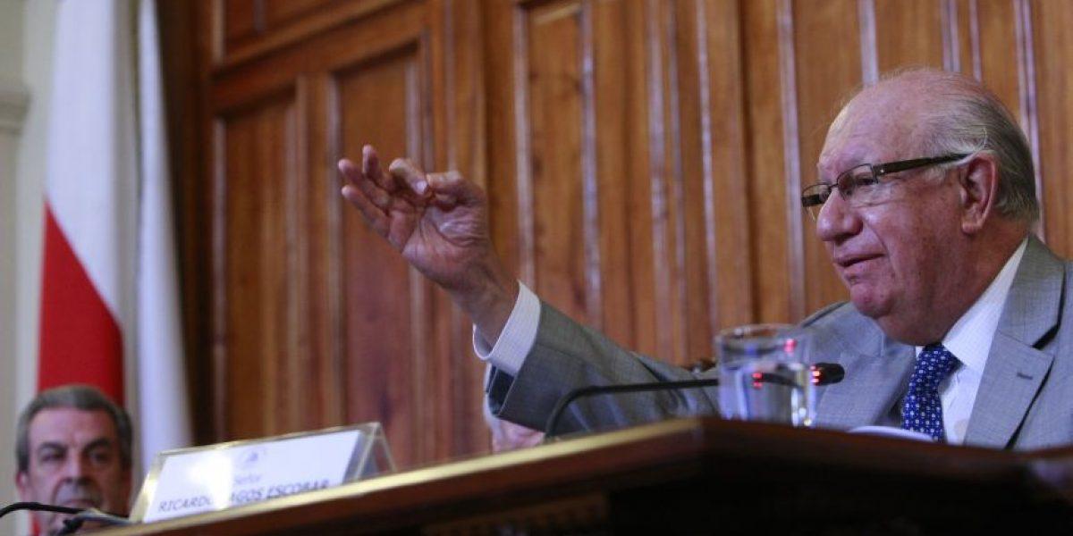 Mirando la presidencial: directiva del PPD se reunió con Ricardo Lagos