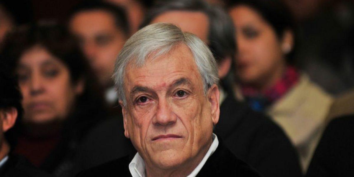 Piñera declara estar