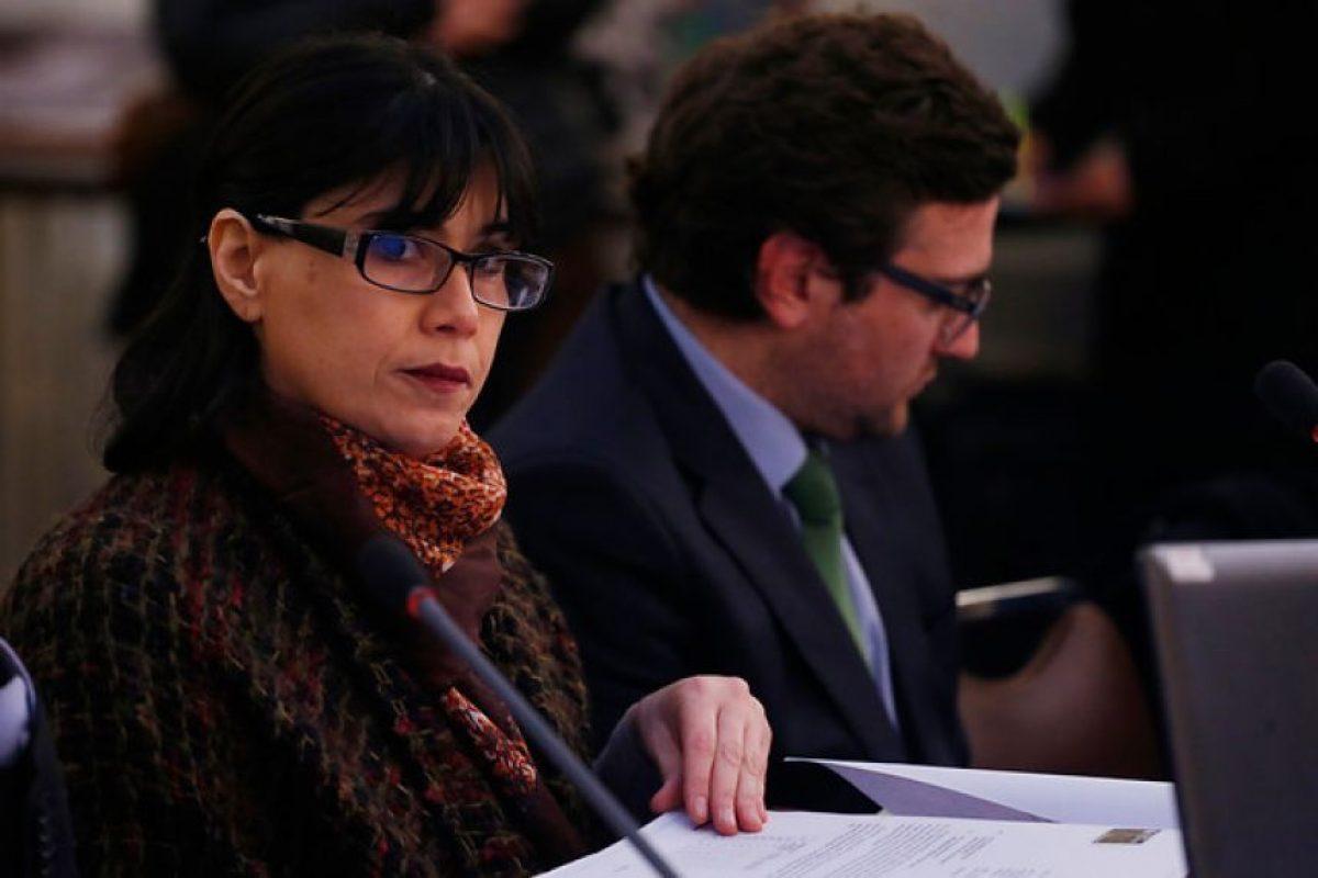 Javier Blanco, ministra de Justicia Foto:Agencia UNO. Imagen Por: