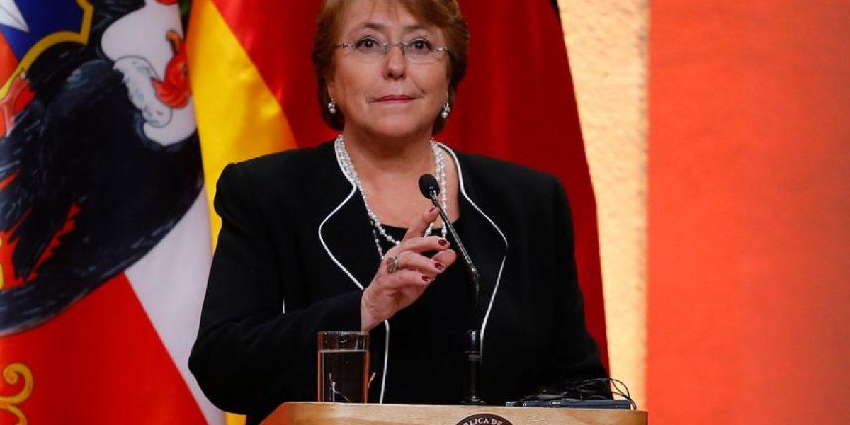 Bachelet y crisis en Gendarmería: