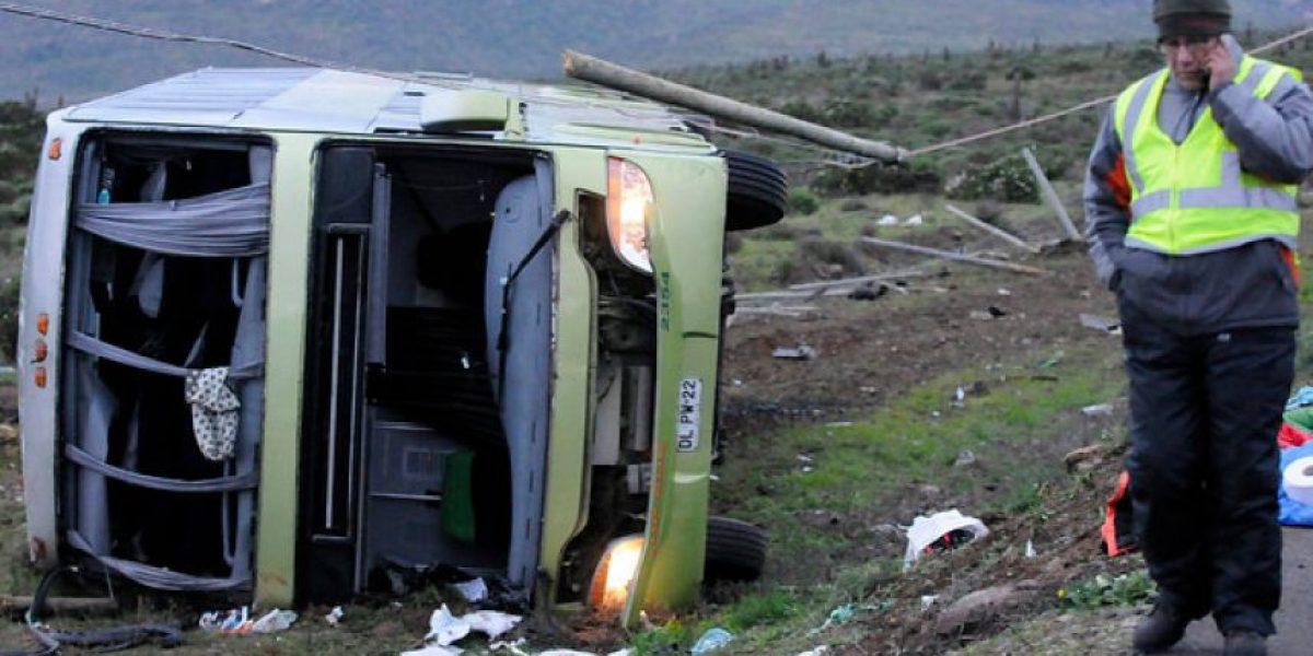 Ampliaron detención de chofer de Tur Bus en que murieron 4 personas