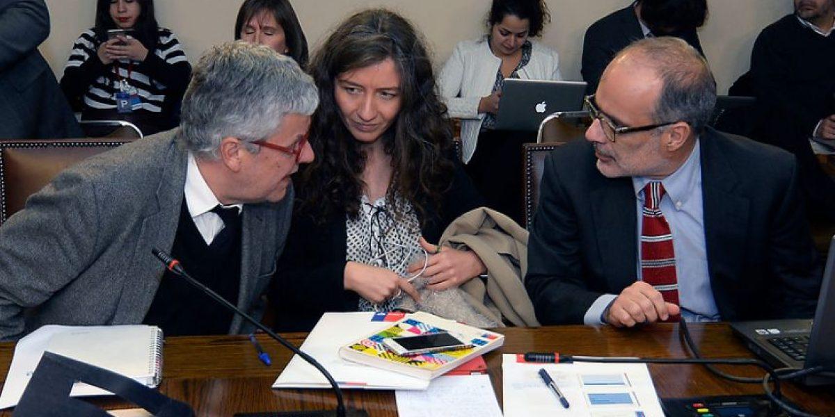 Ministro Valdés expuso en la Cámara proyecciones de financiamiento para la reforma educación superior