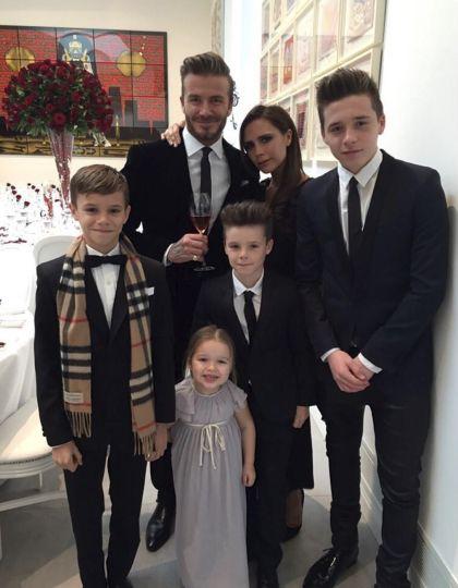 Los adorables momentos de Harper Beckham