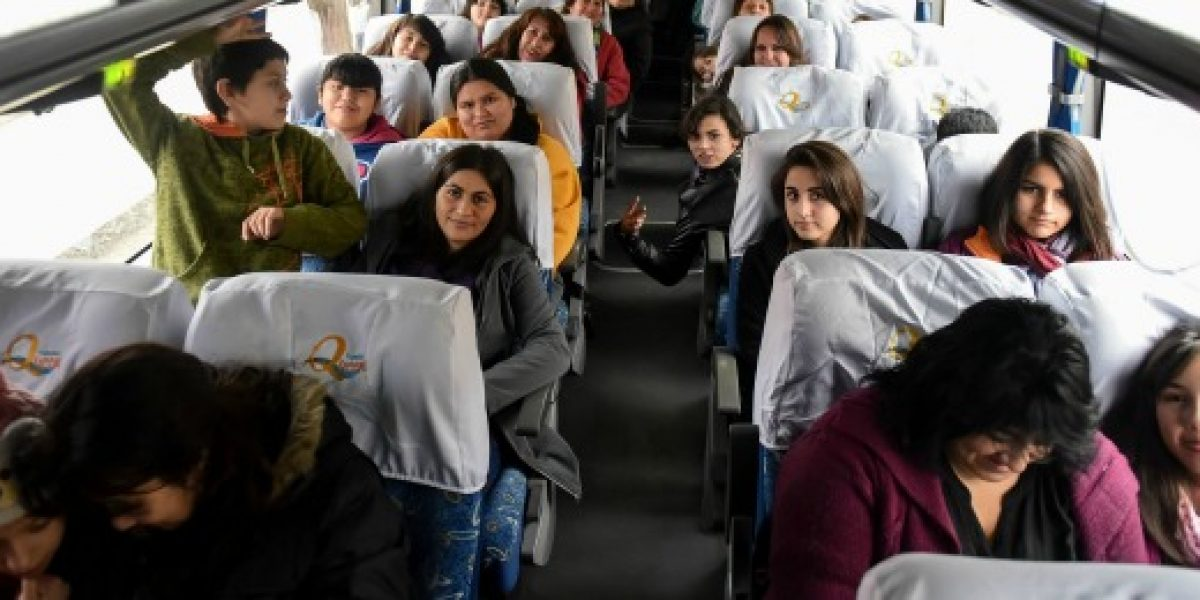 11 familias iniciaron sus vacaciones gracias al programa Turismo Familiar