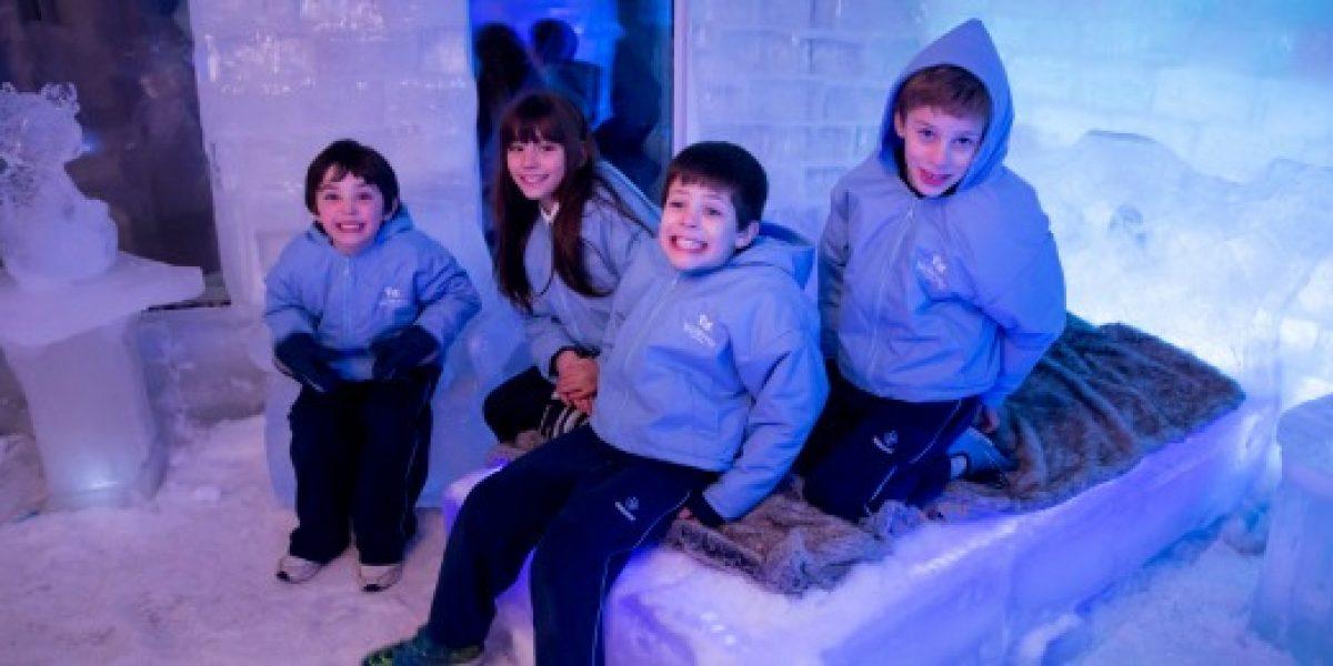 Llegó a Chile el primer hotel 100% de hielo... ¡Y es para niños!