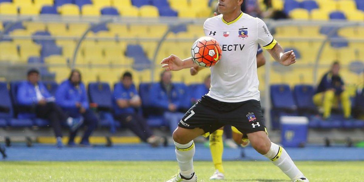 Un problema menos para Mosa: Paredes quedó habilitado para jugar por Colo Colo