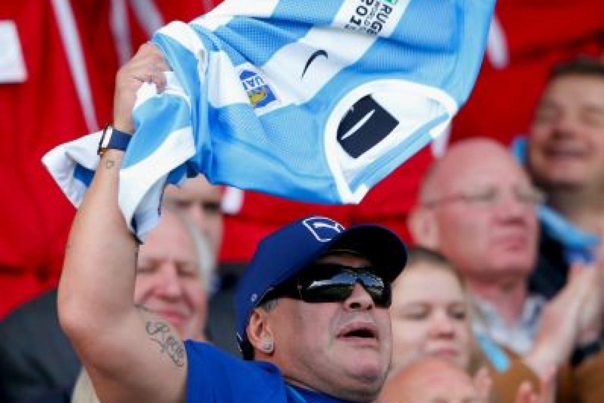 Diego Maradona atacó primero Foto:Getty Images. Imagen Por: