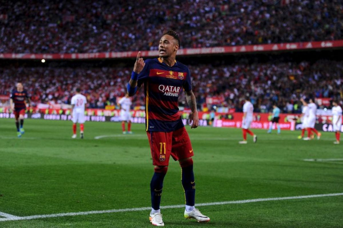2. Neymar (Barcelona/Brasil). 100 millones de euros Foto:Getty Images. Imagen Por: