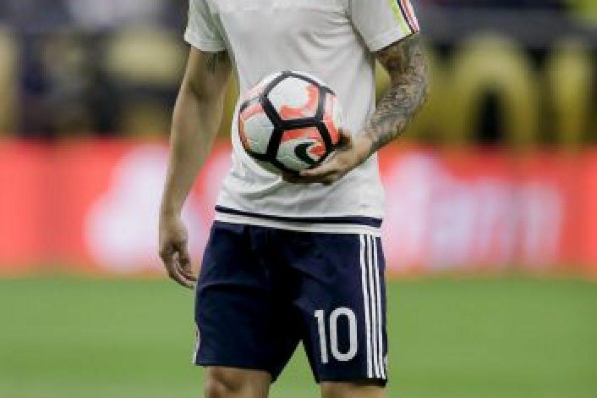 4. James Rodríguez (Real Madrid/Colombia). 70 millones de euros Foto:Getty Images. Imagen Por: