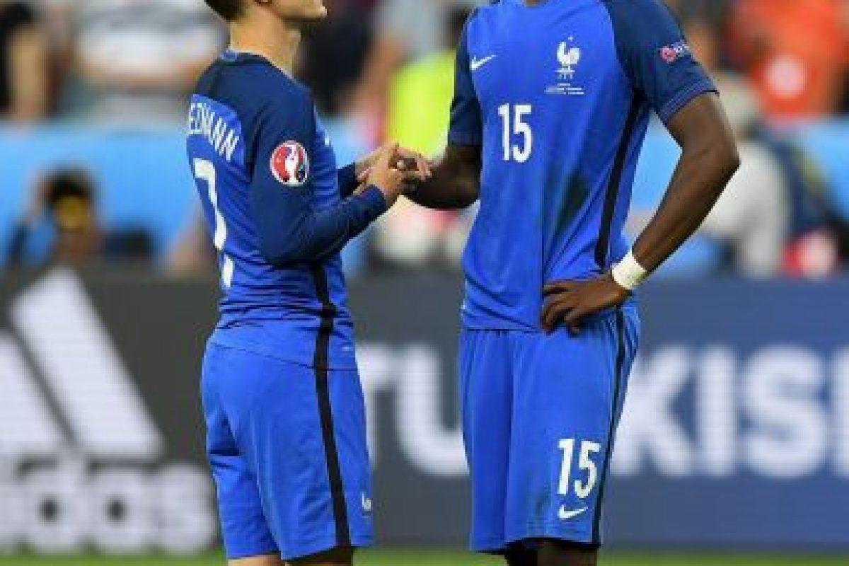 Así sufrió Griezmann en la final de la Euro 2016 Foto:Getty Images. Imagen Por: