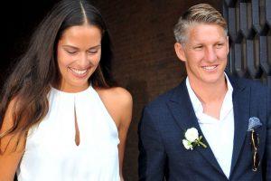 Ana Ivanovic y Bastian Schweinsteiger se casaron en Venecia Foto:AP. Imagen Por: