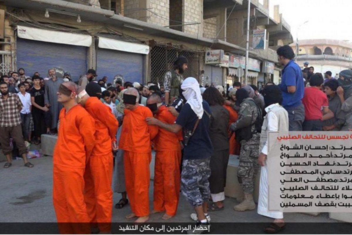Cuatro jugadores y un dirigente fueron asesinados por ISIS Foto:Twitter @Raqqa_SL. Imagen Por: