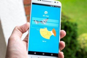 """Así se ve la aplicación no oficial para chaetar en """"Pokemon Go"""" Foto:Go Chat. Imagen Por:"""