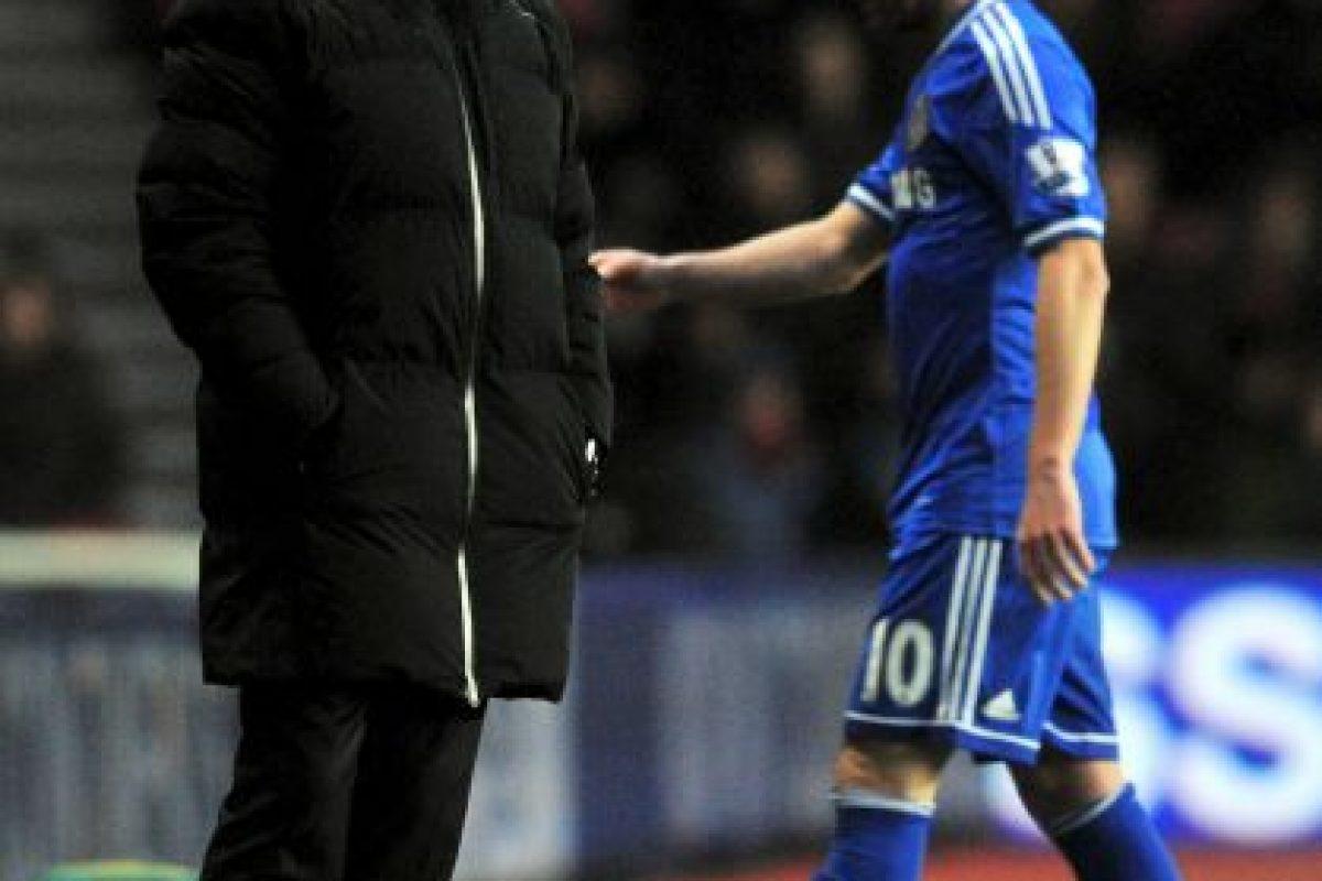 Cuando compartieron en Chelsea, el jugador sólo duró cinco meses en el club y fue vendido a Manchester United Foto:AFP. Imagen Por: