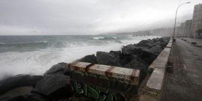 Sube número de damnificados en la Región de Valparaíso producto del sistema frontal