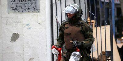Providencia: Carabineros desaloja la Universidad Academia de Humanismo Cristiano
