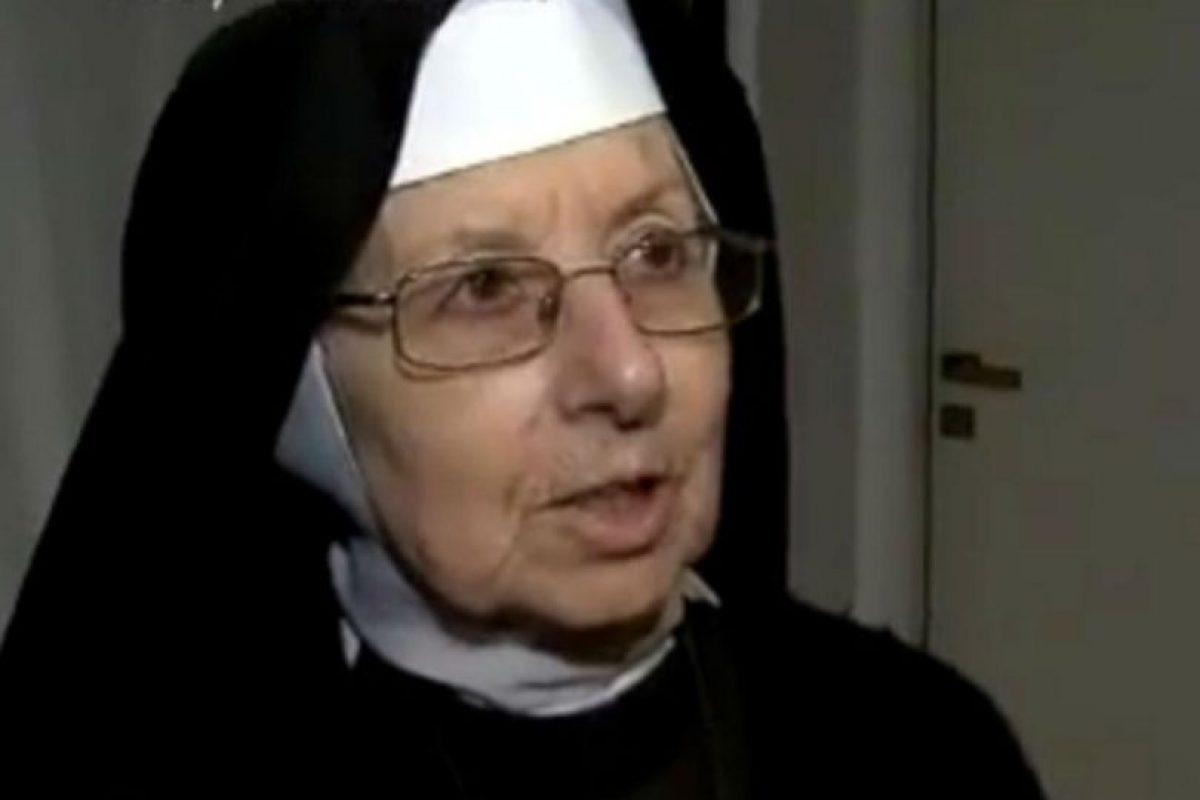 La hermana Celia Inés Aparicio. Foto:Reproducción. Imagen Por: