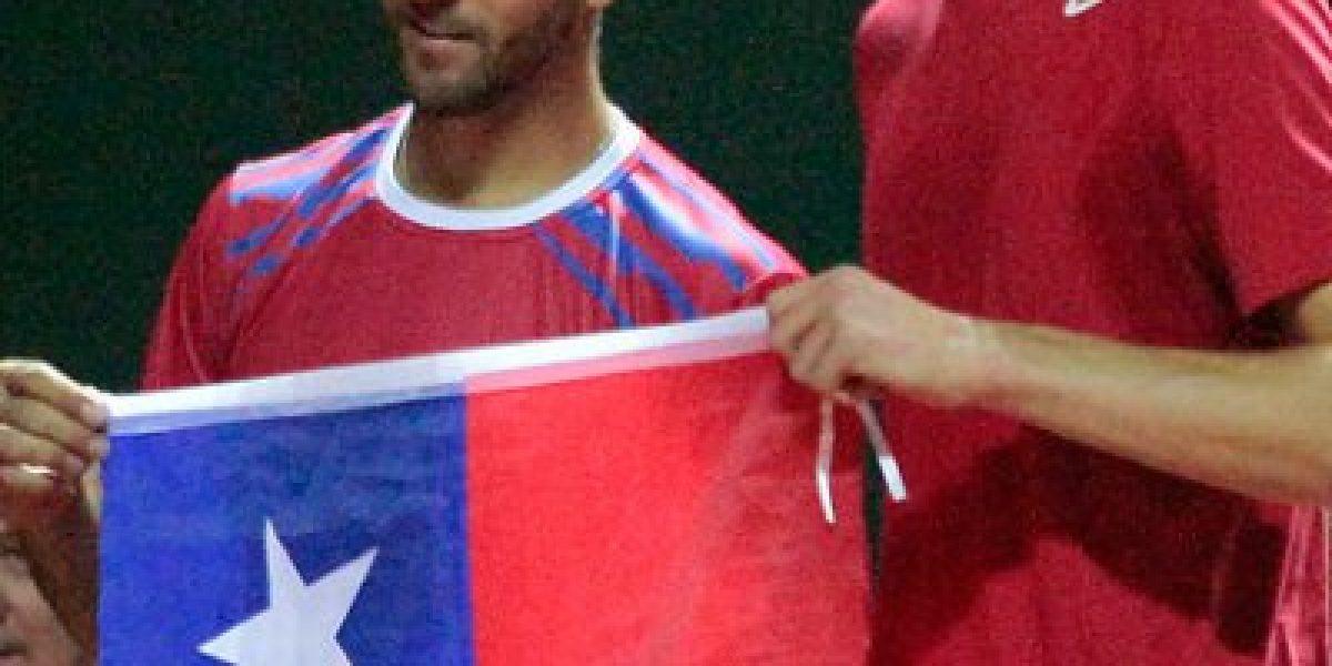 Massú confió en los invictos Jarry y Podlipnik para el dobles: