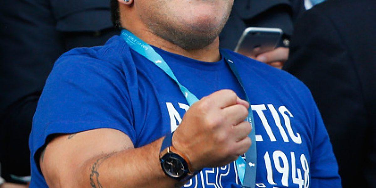 Bolivia le cierra la puerta a Maradona como DT: