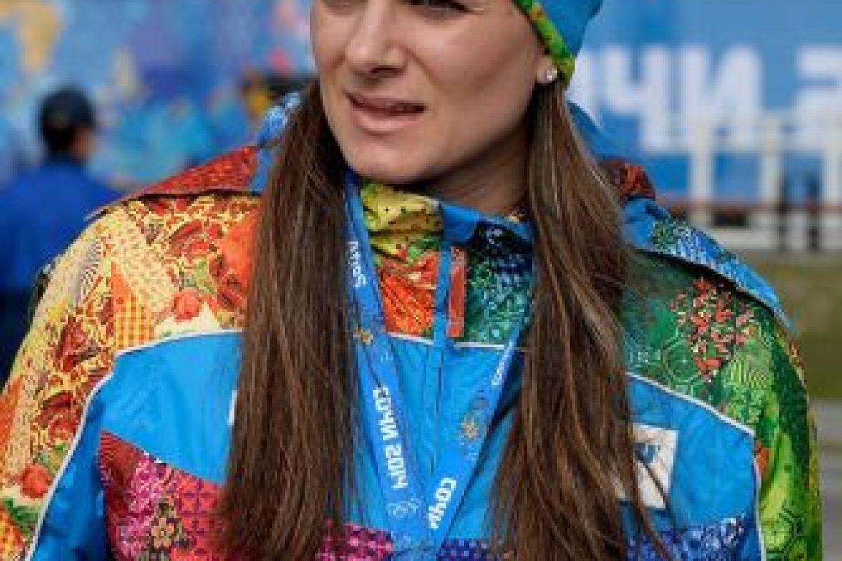 Yelena Isinbayeva se vio empapada por el problema de dopaje de la Federación de Rusia Foto:Getty Images. Imagen Por: