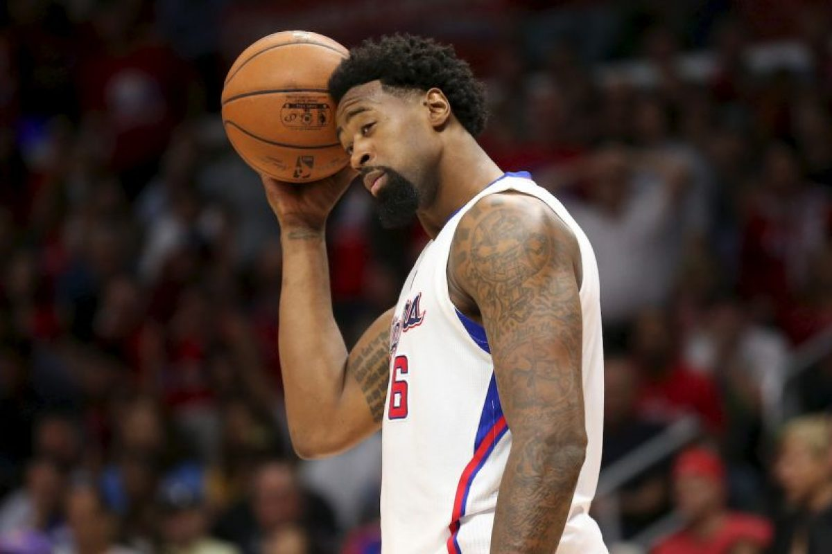 Los más perjudicados en la actualidad: DeAndre Jordan (Los Angeles Clipper) Foto:Getty Images. Imagen Por: