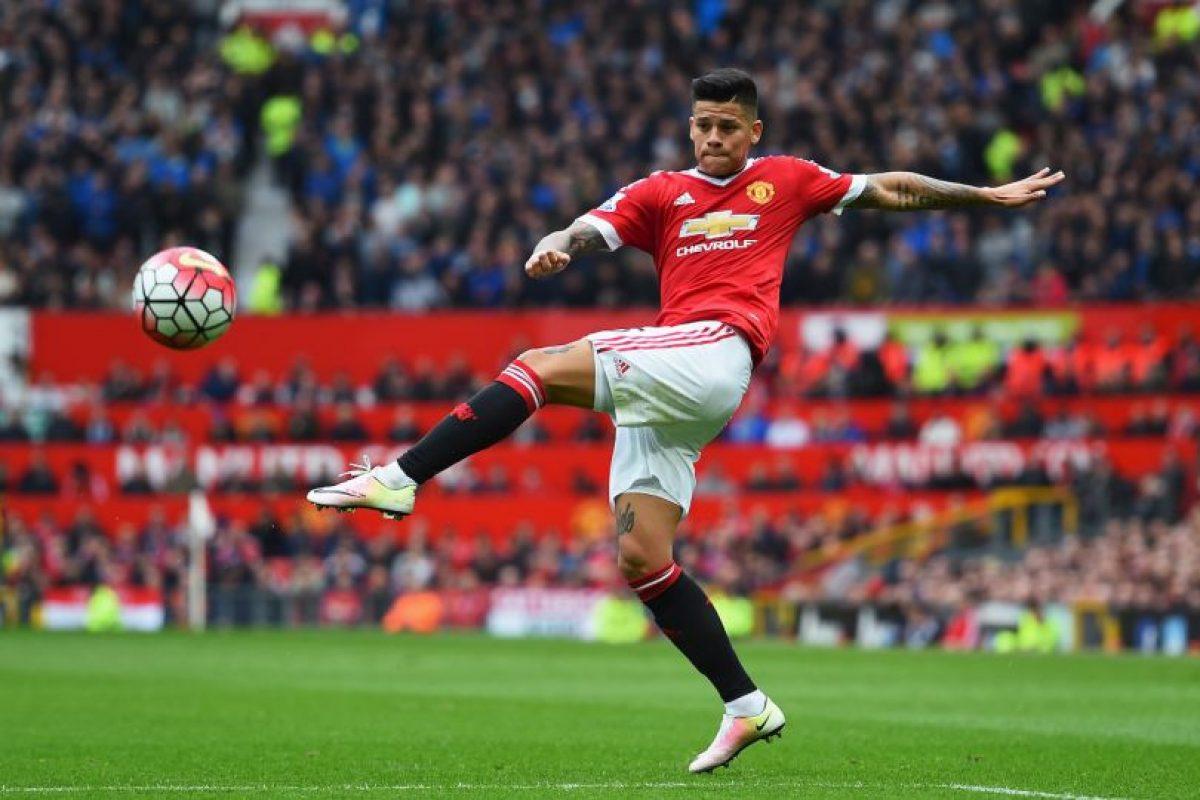 Marcos Rojo es otro de los jugadores que tampoco sería tenido en cuenta por Mourinho Foto:Getty Images. Imagen Por: