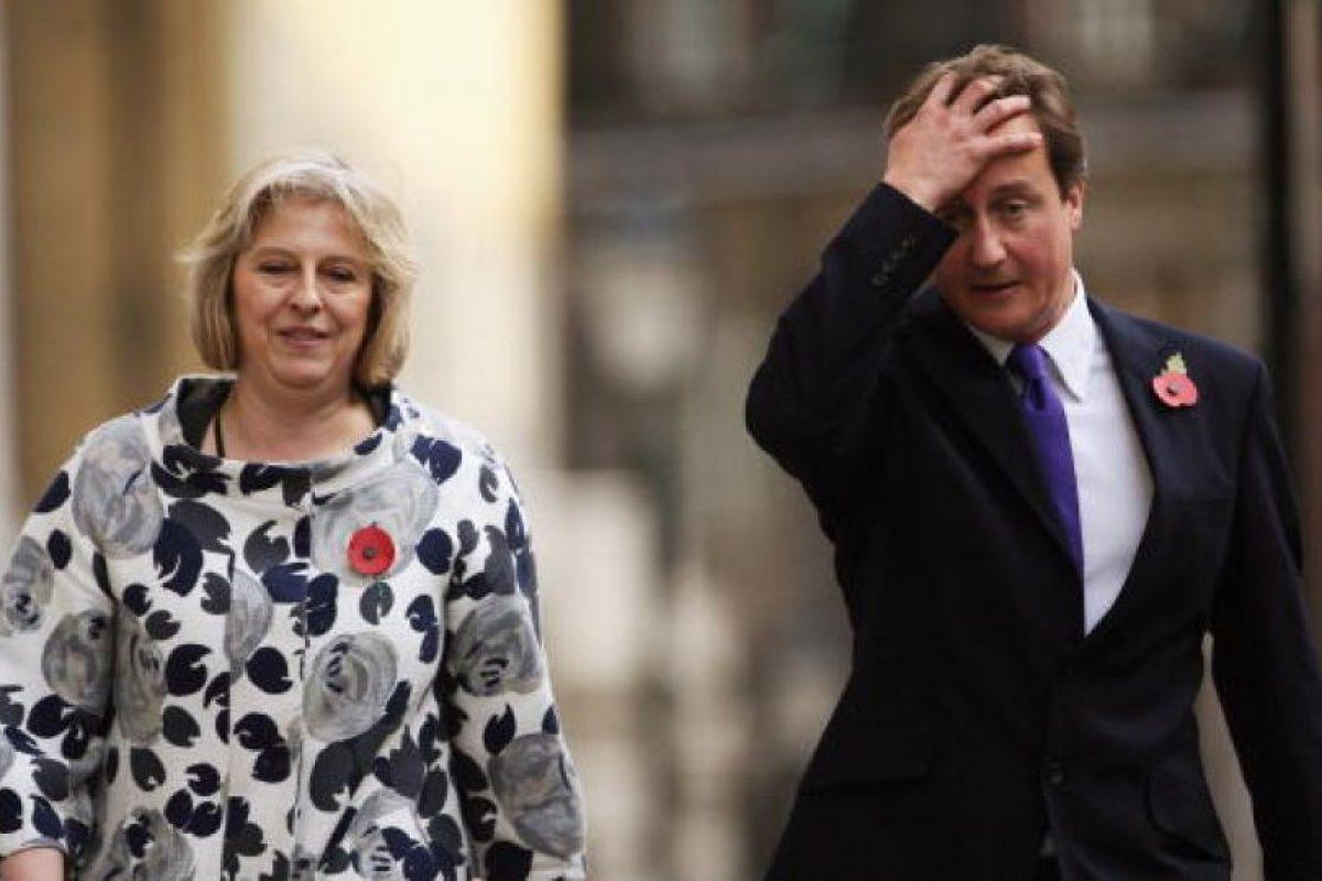 Actualmente es la Primer Ministro de Reino Unido Foto:Getty Images. Imagen Por:
